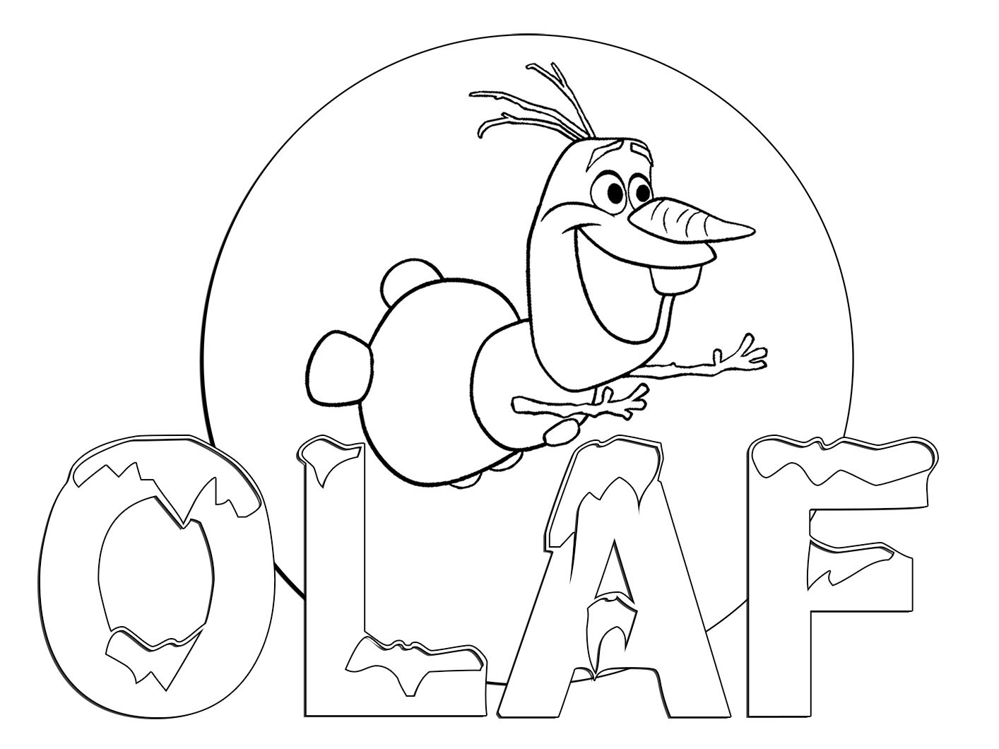 Olaf-frozen-movie-coloring-pages