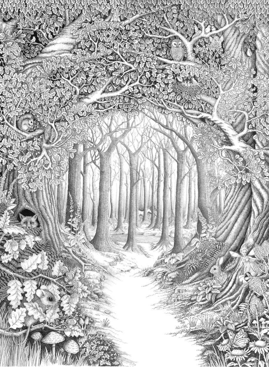 enchanted_forest_by_ellfi-d3fou8s