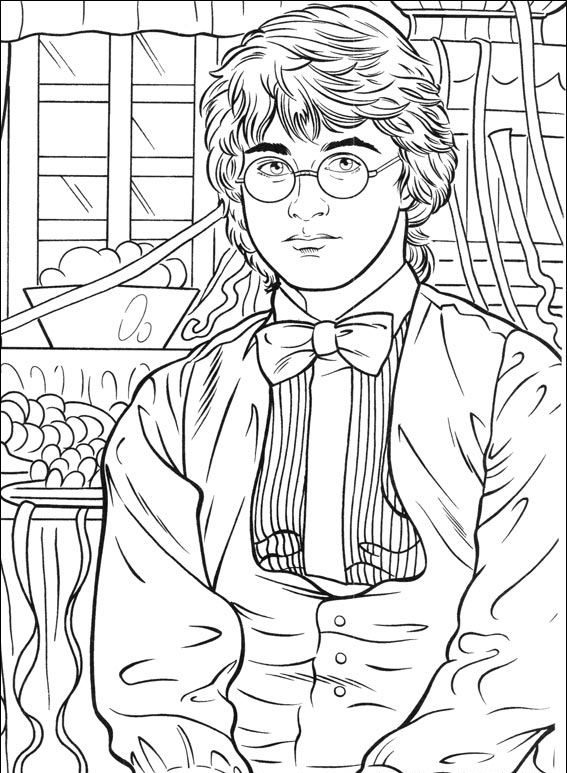 Exceptional image with regard to harry potter coloring pages printable